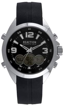 Kenneth Cole Reaction Men's Analog Quartz & Digital Sport Watch, 46.5mm
