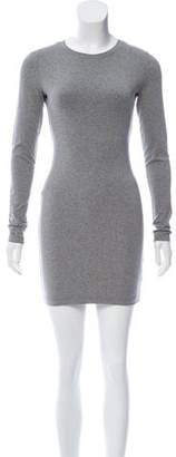 Kimberly Ovitz Crew Neck Mini Dress