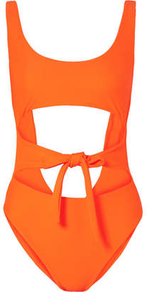 JADE SWIM Bond Cutout Swimsuit - Orange