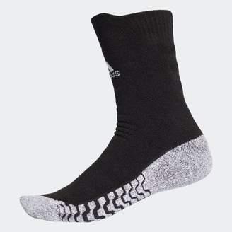 adidas (アディダス) - アルファスキン グリップフルクッション クルーソックス