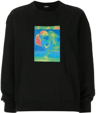 Christian Dada graphic-print sweatshirt