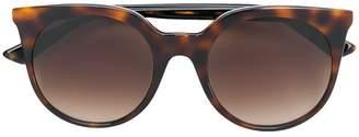 McQ Eyewear round havana sunglasses