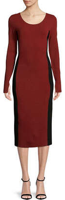 Diane von Furstenberg Long-Sleeve Dress