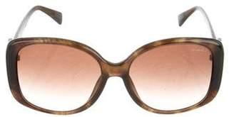 Lanvin Embellished Oversize Sunglasses
