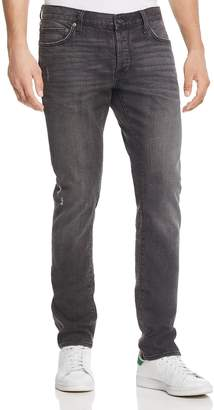 John Varvatos Wight Straight Fit Jeans in Dark Grey