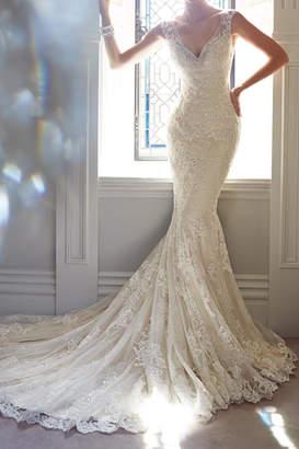 Sophia Tolli Lace Bridal Gown