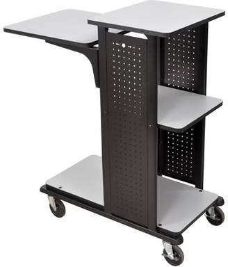 Wilson H. 4-Shelf Heavy-Duty Presentation Station, Gray