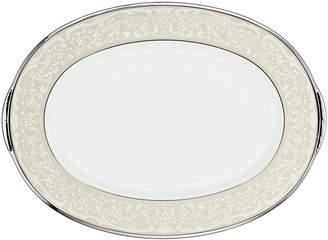 "Noritake Silver Palace"" Medium Oval Platter"