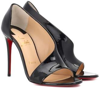 Christian Louboutin Phoebe 100 patent leather sandals