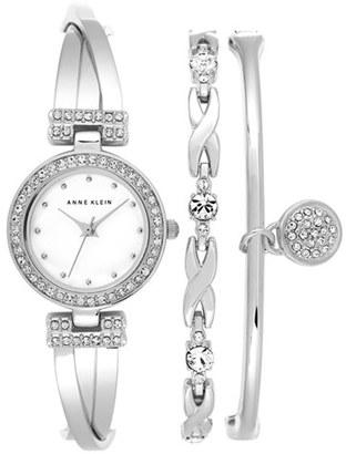 Women's Anne Klein Boxed Bracelet & Bangle Set, 24Mm $150 thestylecure.com