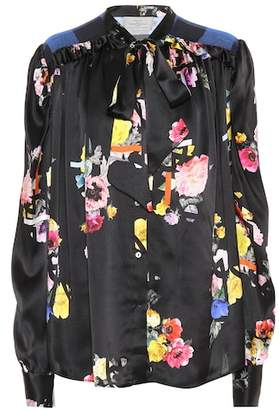 Preen by Thornton Bregazzi Evan floral silk blouse