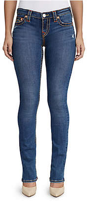True Religion WOMENS MULTI BIG T STRAIGHT JEAN