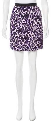 Balenciaga Printed Mini Skirt