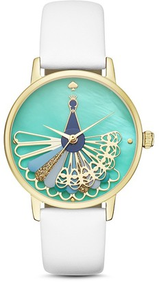kate spade new york Leather Metro Watch, 34mm $225 thestylecure.com