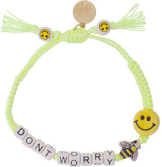 Venessa Arizaga Don't Worry bracelet