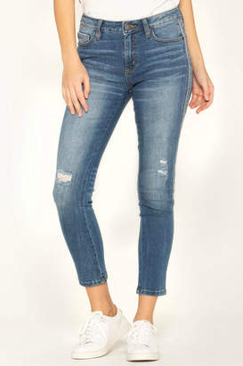 Miss Me So-Torn Mid-Rise Skinny-Jeans