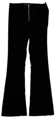 Thomas Laboratories Tait Mid-Rise Velvet Pants