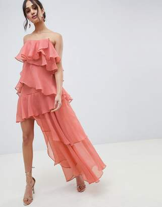 clearance sale 60% clearance newest selection Asos Pink Ruffled Dresses - ShopStyle