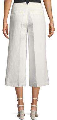 Karl Lagerfeld Paris Cropped Wide-Leg Pants
