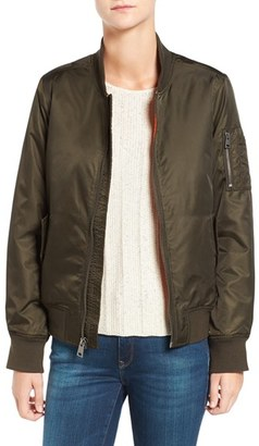 Levi's ® MA-1 Bomber Jacket $150 thestylecure.com