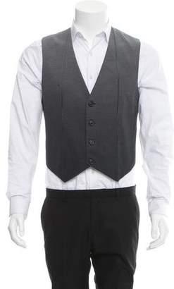 Maison Margiela Polka Dot Suit Vest