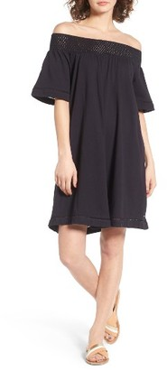 Women's Roxy Moonlight Shadows Off The Shoulder Dress $44.50 thestylecure.com