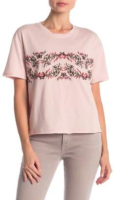 Rebecca Minkoff Ronnie Floral Detailed Tee