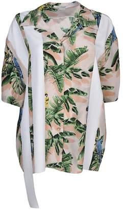 Stella McCartney Stripe And Tropical Print Shirt