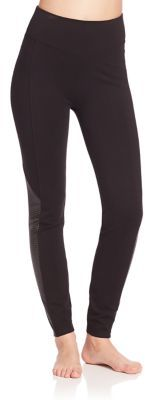 Spanx Perforated Panel Leggings $98 thestylecure.com