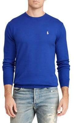 Polo Ralph Lauren Big Tall Crewneck Cotton Sweater