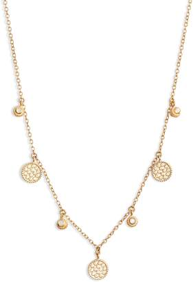 Anna Beck Mini Charm Collar Necklace