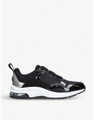 Aldo Drandra faux-leather and mesh trainers