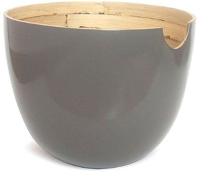 GLOBO Salad Bowl L Black