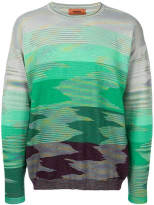 Missoni gradient knit jumper