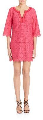 Trina Turk Bell Sleeve Lace Dress $378 thestylecure.com