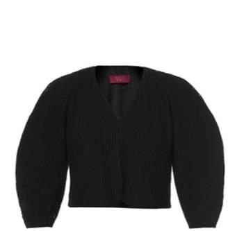 WtR - Black Boucle Cropped Bolero Jacket