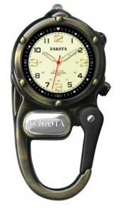 Dakota Watch Company LED Microlight Clip Watch by