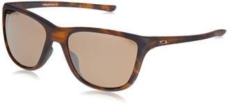 Oakley Women's Reverie Polarized Iridium Square Sunglasses