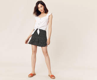 Oasis HEART FLIPPY MINI SKIRT