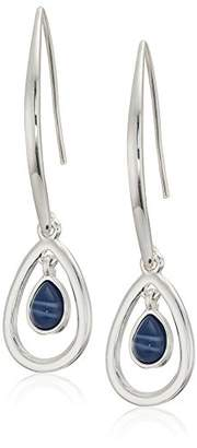 Nine West Women's Silver-Tone and Threader Drop Earrings