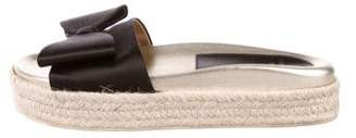 Laurence Dacade Espadrille Slide Sandals