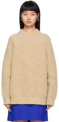 Marni Brown Crewneck Long Sleeve Sweater