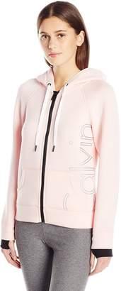 Calvin Klein Women's Scuba Outline Logo Hoodie