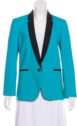 Michael Kors Notched-Lapel Wool Blazer