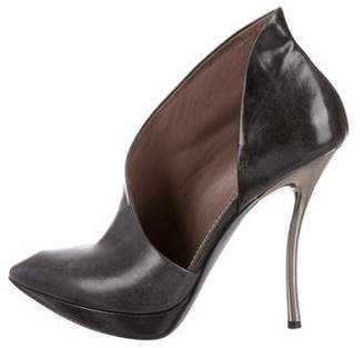 Lanvin d'Orsay Pointed-Toe Booties