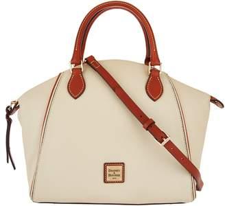 Dooney & Bourke Pebble Leather Satchel Handbag- Sydney