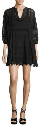 Joie Gelina Lace 3/4-Sleeve Dress $328 thestylecure.com