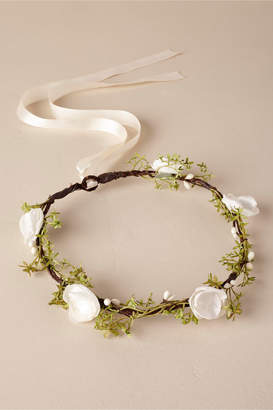 Ragga Weddings Ivory Flower Crown