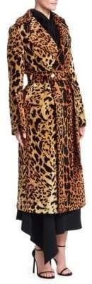 Victoria Beckham Chenille Jacquard Split Sleeve Trench Coat