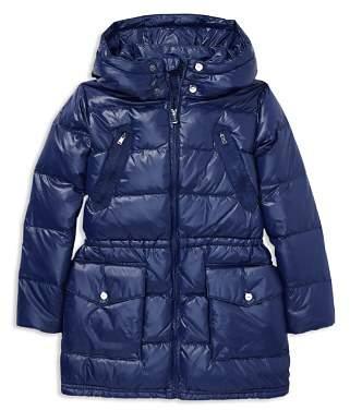 Ralph Lauren Girls' Long Puffer Jacket - Little Kid